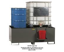 ALL-WELDED IBC CONTAINMENT & DISPENSING STATION